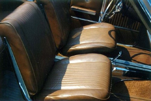 1964 Chevelle Bucket Seat Interior Photos