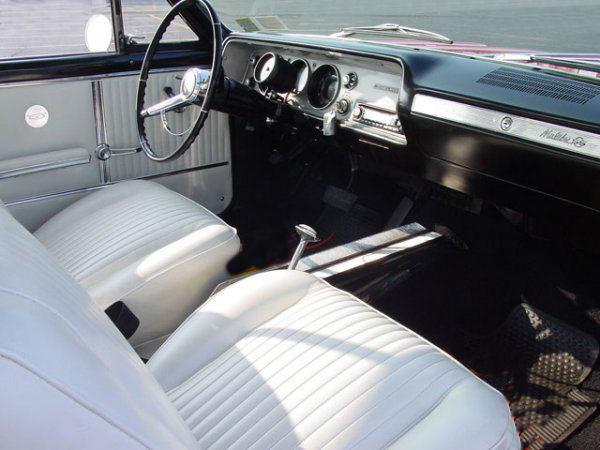 1964 Chevelle Bucket Seat Interior Photos