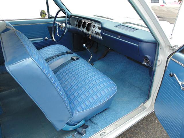 1964 Chevelle Bench Seat Interior Photos