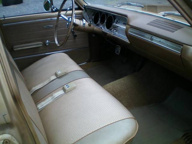 1965 Chevelle Bench Seat Interior Photos