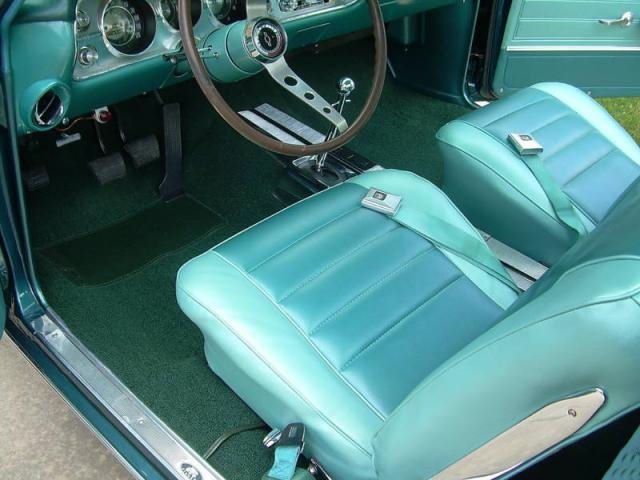 1965 Chevelle Bucket Seat Interior Photos