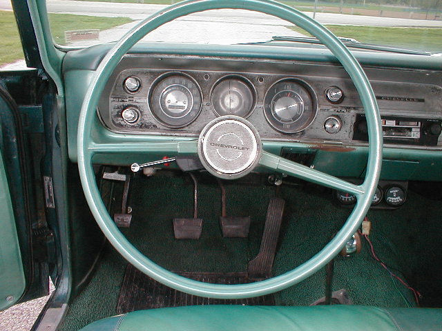 """1964-1965 Chevelle Malibu EL Camino steering wheel BOWTIE 15/"""" MUSCLE STAINLESS"""