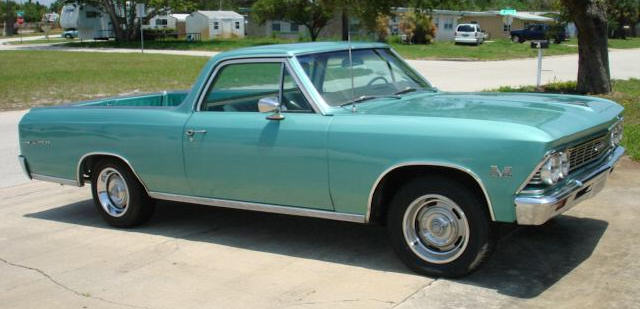 1966 El Camino Photo Gallery