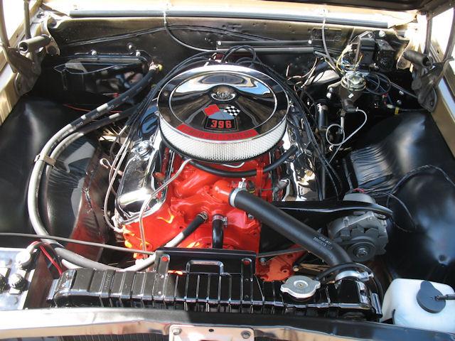 1966 Chevelle Engine Photos