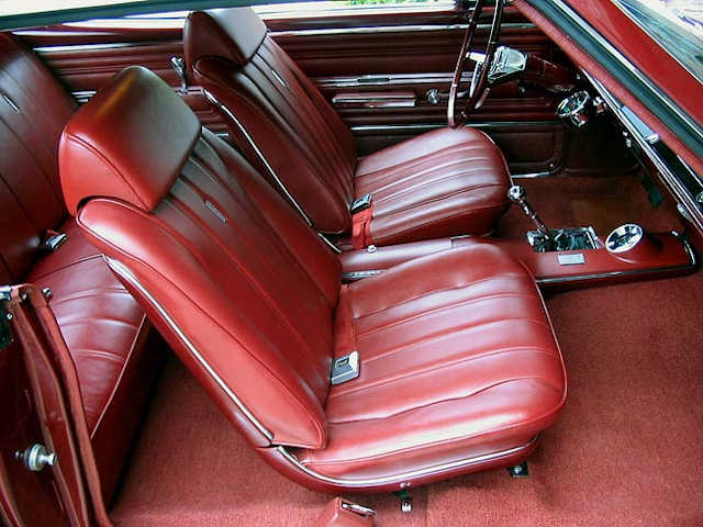 1966 Chevelle Bucket Seat Interior Photos