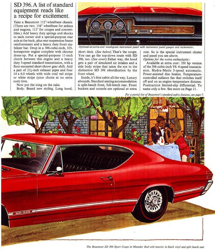 1968 Beaumont Dealer Brochures