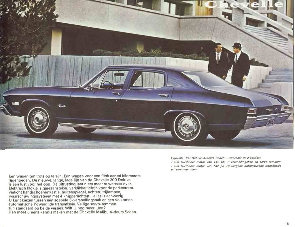 1968 Chevelle Dealer Brochures