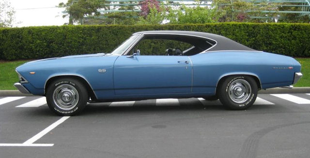 1969 Chevelle Ss396