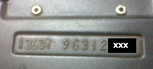 1969 Chevelle Vin Plate Samples