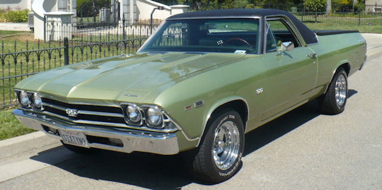 1969 El Camino Photo Gallery