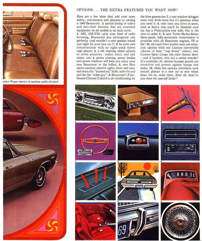 1969 Beaumont Dealer Brochures