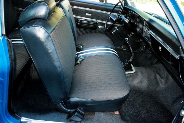 1969 Chevelle Bench Seat Interior Photos
