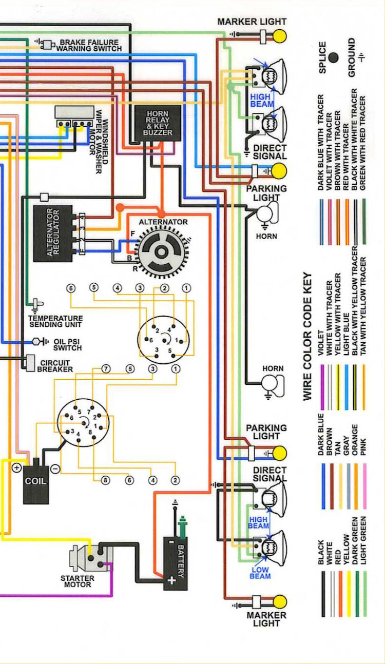 69diagram_color_2 1969 chevelle wiring diagrams 69 chevelle dash wiring diagram at edmiracle.co