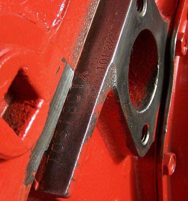 Ls6 Engine Code: 1970 Chevelle Engine Pad Photos