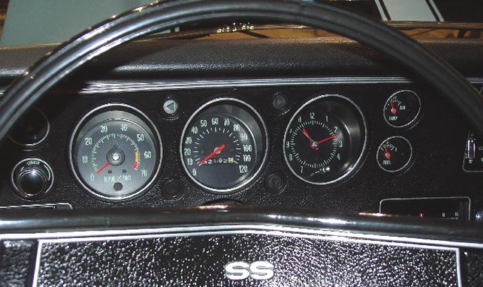 Dash Gauges Chevrolet Malibu Monte Carlo El Camino
