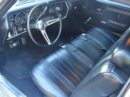 1970 Chevelle Bench Seat Interior Photos