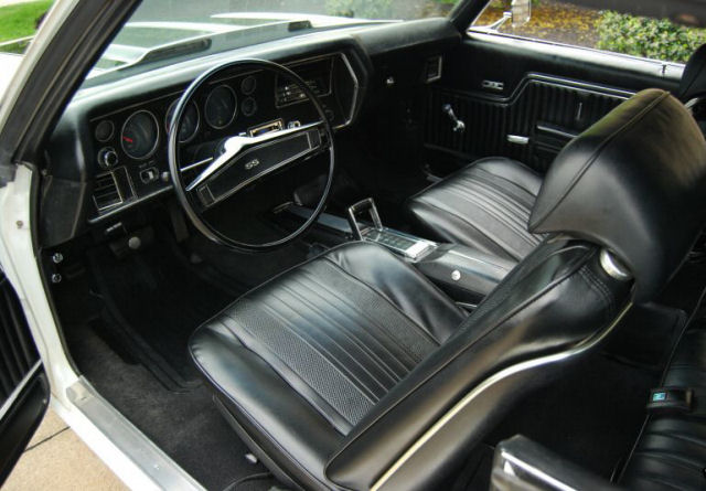 1970 Chevelle Bucket Seat Interior Photos