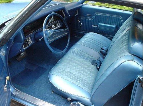 1972 Nova Ss Bench Seat