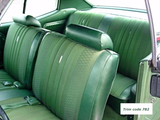 1970 Chevelle Bench Seat Interior Photos