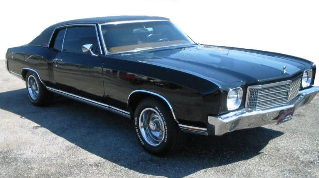 1970 Monte Carlo Photo Gallery