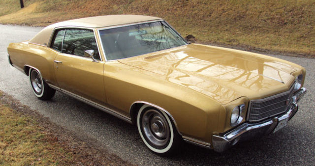 1970 Chevelle Paint Codes