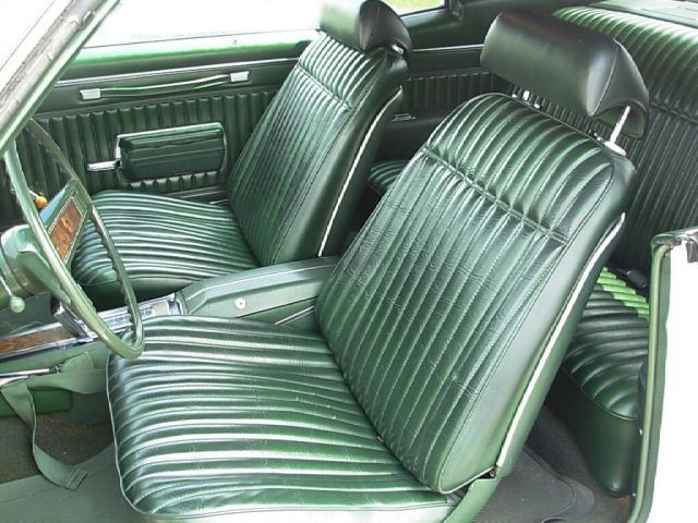 1970 Monte Carlo Bench Seat Interior Photos