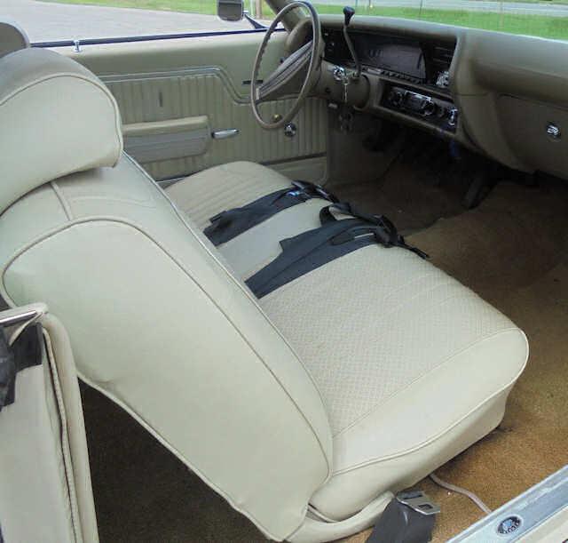 1971 Chevelle Bench Seat Interior Photos