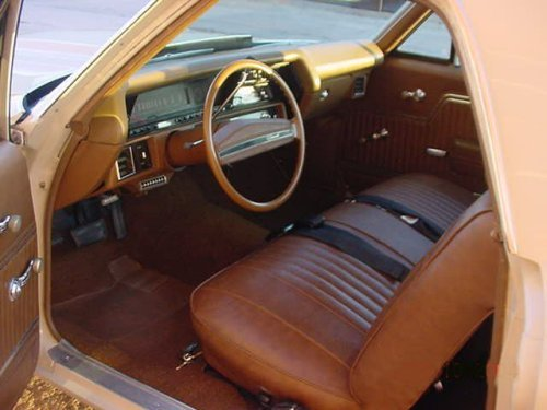 1971 Chevelle Bench Seat Interior Photos