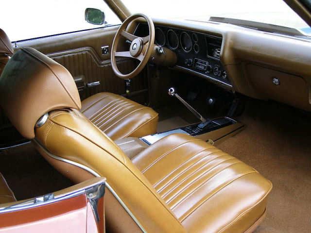 1971 Chevelle Bucket Seat Interior Photos