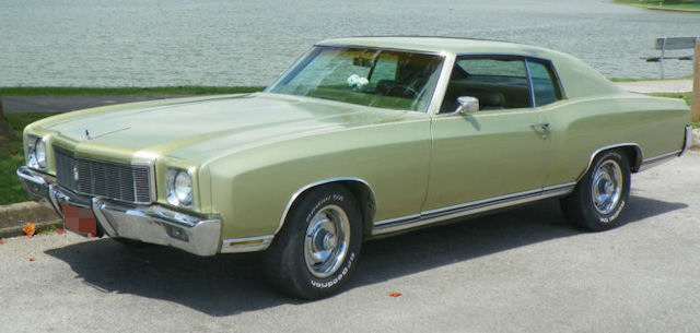 1971 Monte Carlo Photo Gallery