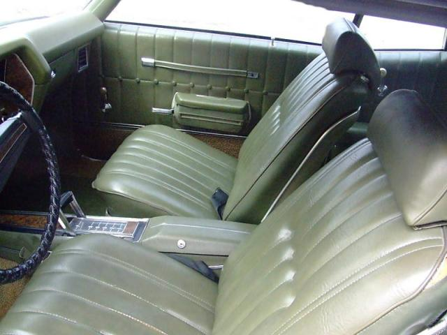 1971 Monte Carlo Interior Photos