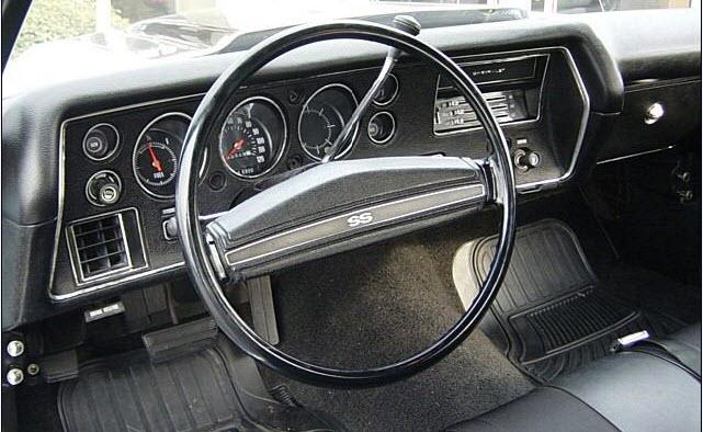 1970 Chevelle Dash Super Sport Gauge Conversion Kit 6500 ...