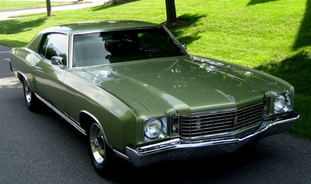 1972 Monte Carlo Photo Gallery