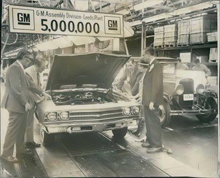 Chevrolet Final Assembly Plants
