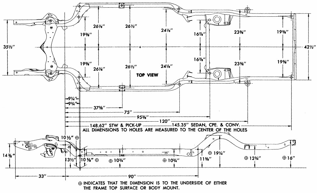 1964 Ford F100 Frame Diagrams on 1967 chevelle brake line diagram