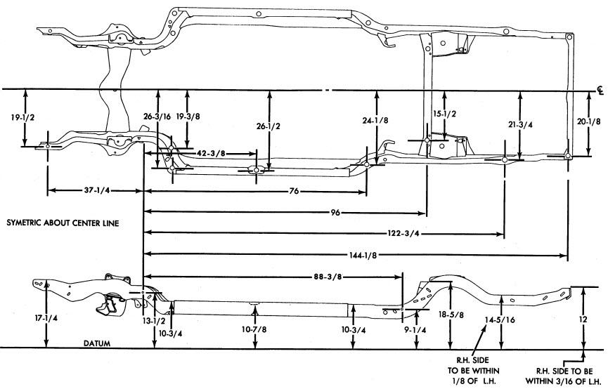 chevelle frames 1970 mc