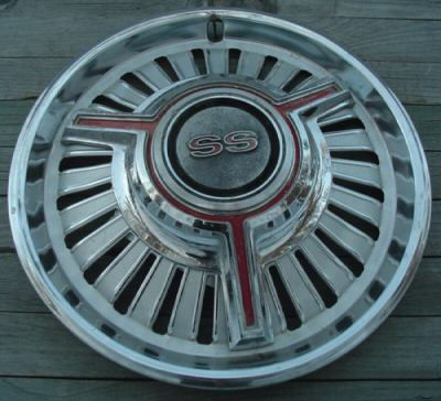 Wheel Covers, Malibu SS