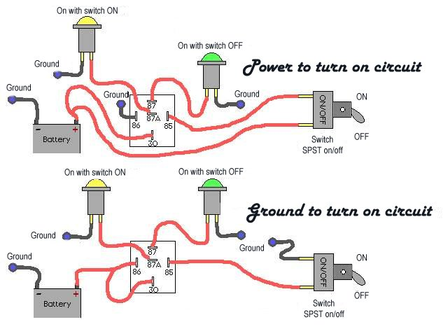circuits how a relay works