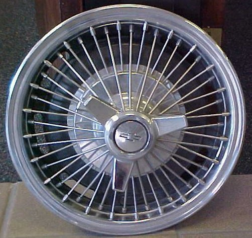 Wheel Covers, Simulated Wire